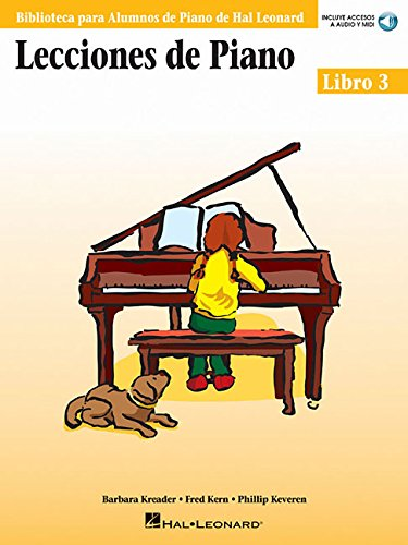 9780634089862: Lecciones De Piano: Libro 3 (Book/Online Audio)