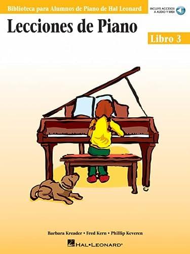 9780634089862: Lecciones de Piano Libro 3