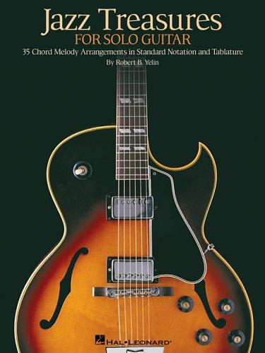 9780634089893: Jazz Treasures for Solo Guitar