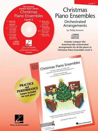 9780634089961: Christmas Piano Ensembles - Level 5 CD Only CD