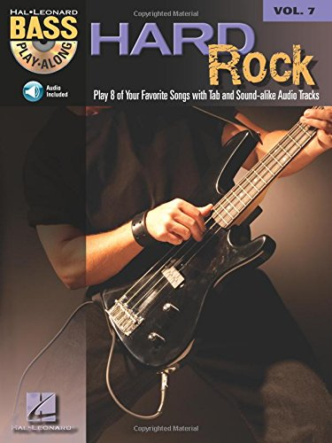 9780634089992: Hard Rock Guitare Basse +CD (Bass Play-along)