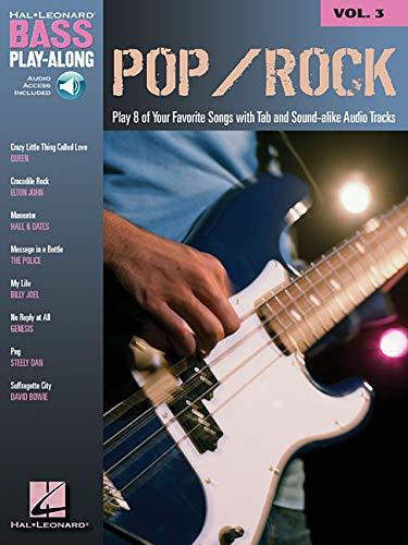 9780634090011: Pop/Rock: Bass Play-Along Volume 3 (Hal Leonard Bass Play-Along)