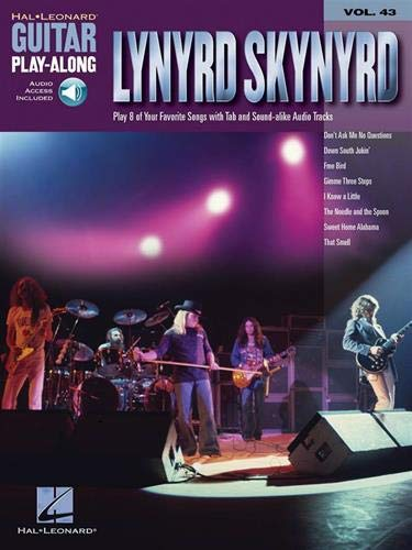 9780634090233: LYNYRD SKYNYRD VOLUME 43 BK/CD (Guitar Play-Along)