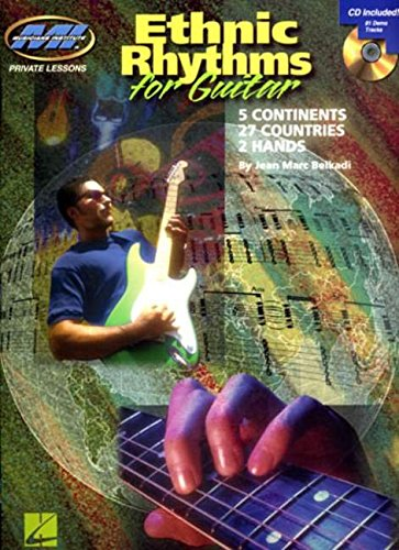 9780634090554: Ethnic Rhythms for Electric Guitar: 5 Continents * 27 Countries * 2 Hands