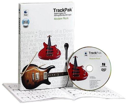 9780634090585: Modern Rock Trackpak: Apple Loops for GarageBand and Logic
