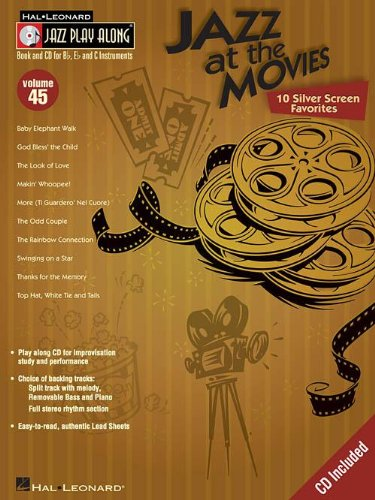 9780634090738: Jazz at the Movies: Jazz Play Along Series Vol. 45