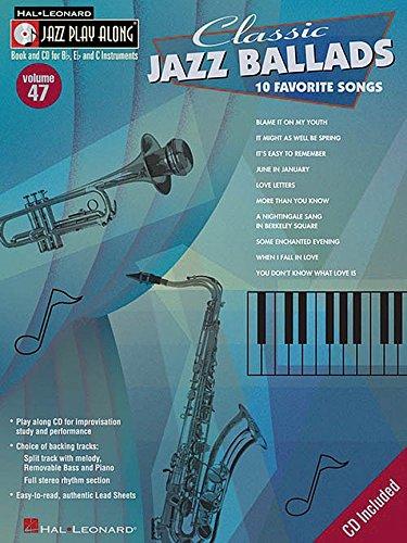 9780634090752: Classic Jazz Ballads: Jazz Play-Along Series Volume 47 (Hal Leonard Jazz Play-Along)