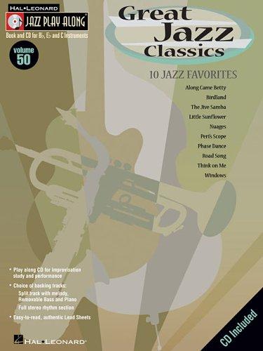 9780634090783: Great Jazz Classics: Jazz Play-Along Series Vol. 50