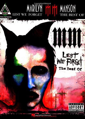9780634090981: Marilyn Manson - Lest We Forget: The Best of