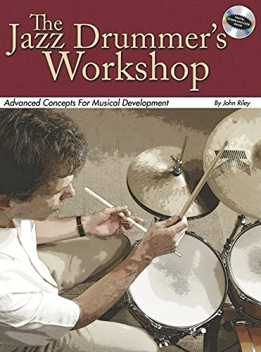 9780634091148: Jazz Drummers Workshop Bk/CD Advanced Concepts For Musical Development