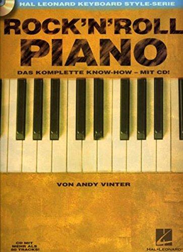 ROCK N ROLL PIANO CD IN GERMAN: VON ANDY VINTER