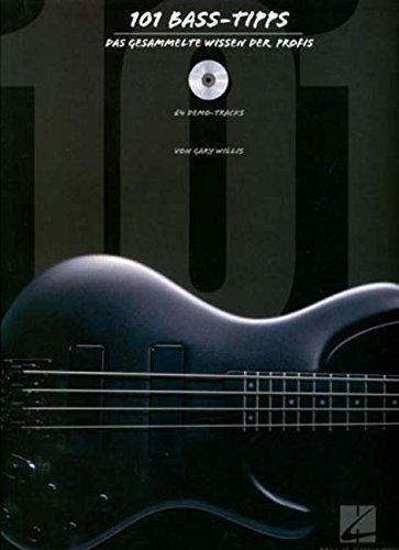 9780634091643: 101 Bass-Tipps (Dt). Mit CD: Das gesammelte Wissen der Profis