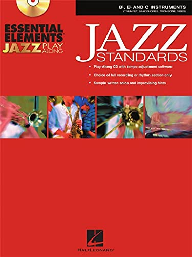 9780634091841: Essential Elements Jazz Play-Along: Jazz Standards B Flat, E Flat and C Instruments Bk/CD-ROM