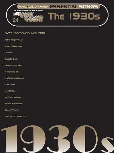 9780634092381: Essential Songs - The 1930s: E-Z Play Today Volume 24