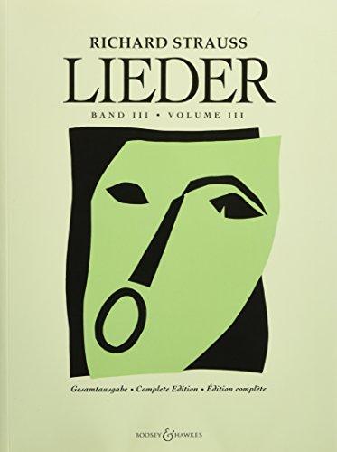 9780634092541: Lieder - Volume 3