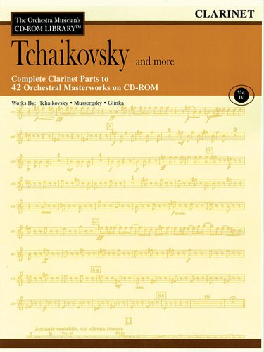 9780634094200: Orchestra Musician's CD-ROM Library Volume 4 Clarinet Tchaikovsky & More