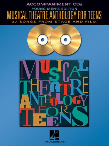 9780634094910: Musical Theatre Anthology for Teens Book With CD Young Men's Edition - Accompaniment CD Only