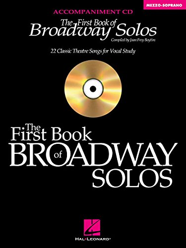 9780634094941: The First Book of Broadway Solos