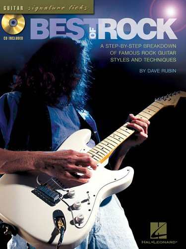 9780634095269: Best of Rock: A Step-By-Step Breakdown of Famous Rock Guitar Styles and Techniques