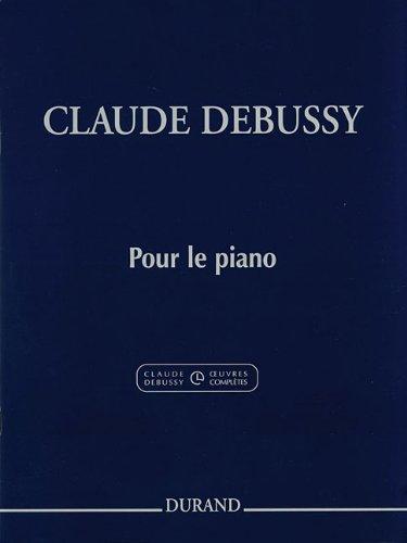 9780634095405: Pour le piano: Piano Solo - Critical Edition