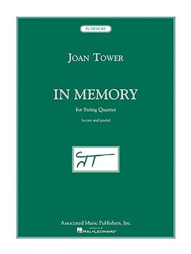 9780634095665: In Memory: For String Quartet