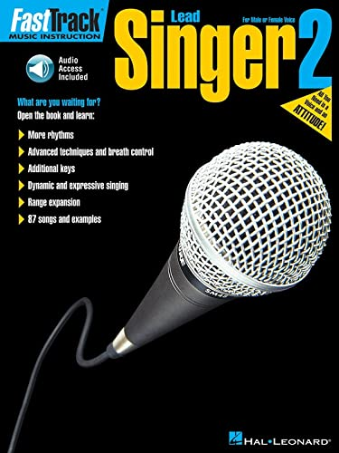 9780634096457: FastTrack Lead Singer Method - Book 2: for Male or Female Voice (v. 2)