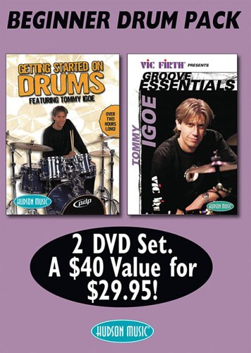 9780634097706: Tommy Igoe Bonus Pack: Groove Essentials And Getting Started on Drums