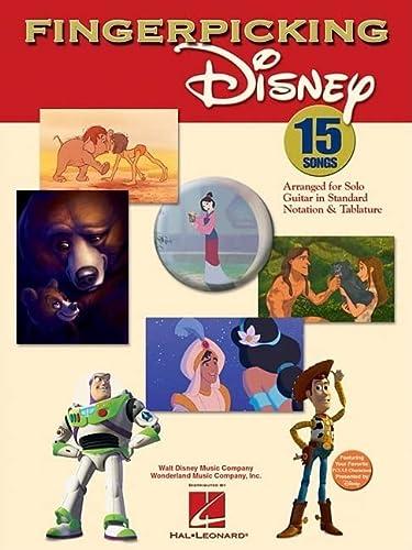 9780634098888: Fingerpicking Disney (Notation & Tablature)