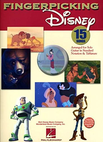 9780634098888: Fingerpicking Disney (Notation & Tablature)