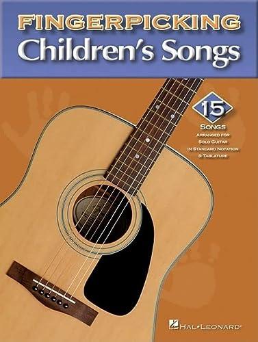 9780634098901: Fingerpicking Children's Songs