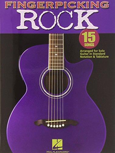9780634098925: Fingerpicking Rock