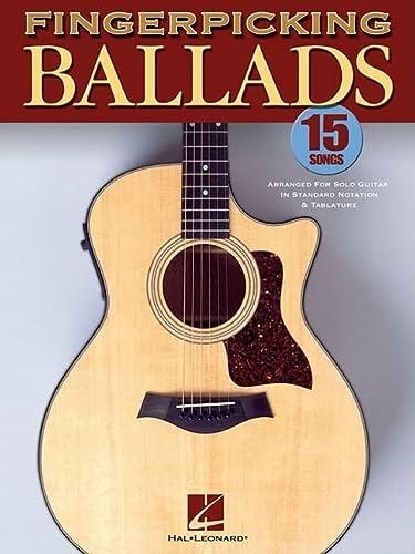 9780634098932: Fingerpicking Ballads