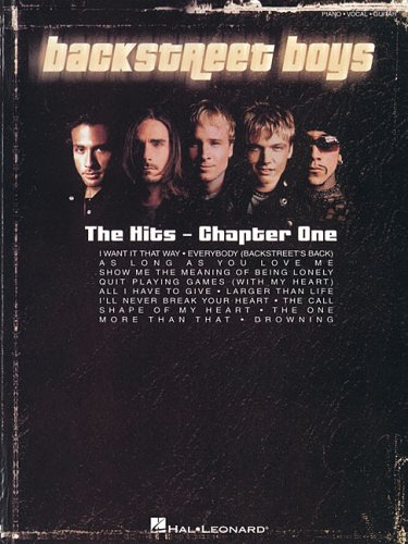 9780634098987: Backstreet Boys - The Hits: Chapter One
