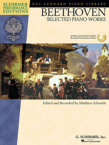 9780634099069: Beethoven - Selected Piano Works (Hal Leonard Student Piano Library (Songbooks)) Bk/online audio