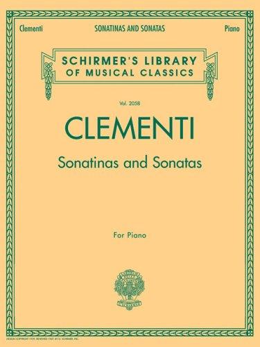 9780634099229: Sonatinas and Sonatas: Schirmer's Library of Musical Classics, Vol. 2058