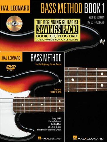9780634099694: Hal Léonard Bass Method - Beginner'S Pack Guitare Basse +CD