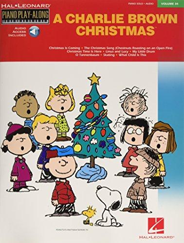 9780634099984: Charlie Brown Christmas: Piano Play-Along Volume 34 (Hal Leonard Piano Play-Along)