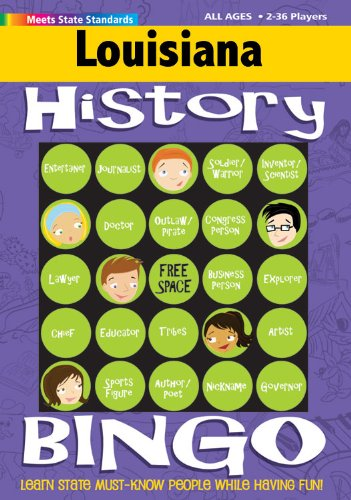 9780635001306: Louisiana History Bingo Game! (Louisiana Experience)