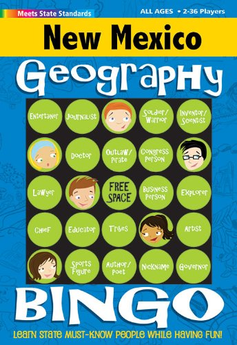 9780635002495: New Mexico Geography Bingo Game (New Mexico Experience)