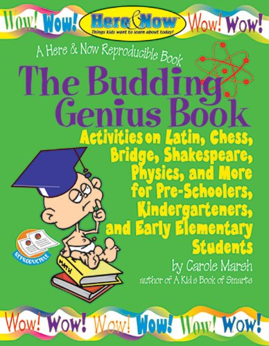 9780635002655: The Budding Genius Book of Reproducible Activities: on Latin, Chess, Bridge, Shakespeare, Physics and more for Pre-Schoolers, Kinderga (Here & Now)