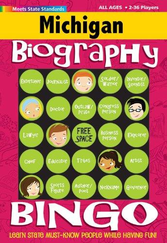 9780635002891: Michigan Biography Bingo (Michigan Experience)