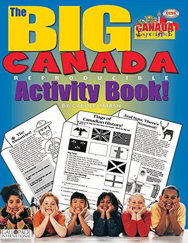 9780635005137: The BIG Canada Reproducible Activity Book (Canada Experience)