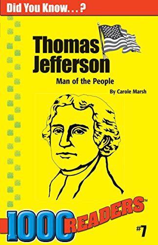 9780635014764: Thomas Jefferson: Man of the People (7) (1000 Readers)