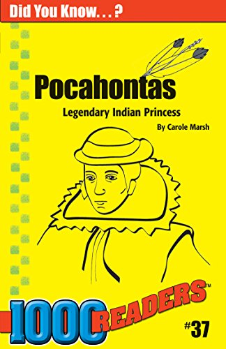 9780635015068: Pocahontas: Legendary Indian Princess (37) (1000 Readers)