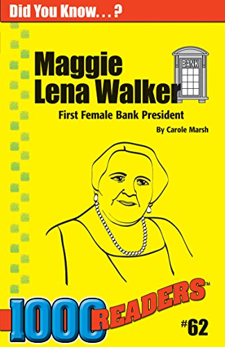 9780635015310: Maggie Lena Walker: First Female Bank President (62) (1000 Readers)