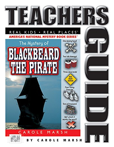 9780635016515: The Mystery of Blackbeard the Pirate Teacher's Guide (Carole Marsh Mysteries)