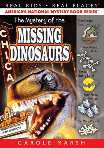 9780635016607: The Mystery of the Missing Dinosaurs (6) (Real Kids Real Places)