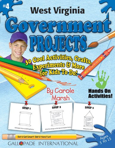9780635019677: West Virginia Government Projects: 30 Cool, Activities, Crafts, Experiments & More for Kids to Do to Learn About Your State (West Virginia Experience)