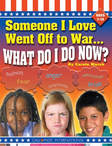 Someone I Love Went Off to War.What: Marsh, Carole