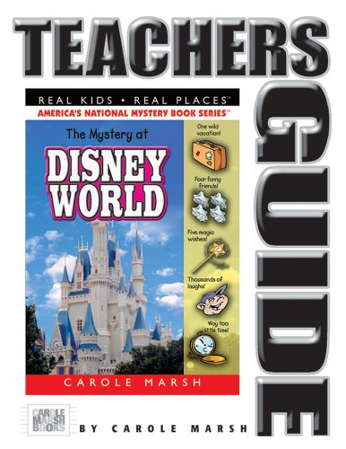 9780635021069: The Mystery at Disney World Teacher's Guide (11) (Real Kids Real Places)